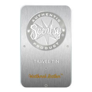 WEATHERED LEATHER SCENTSY TRAVEL TIN | Shop Scentsy | Incandescent.Scentsy.us