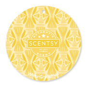 WHITE GRAPEFRUIT SCENTSY SCENT CIRCLE