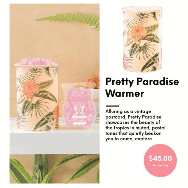 PRETTY IN PARADISE SCENTSY WARMER | Pretty Paradise Scentsy Warmer | Shop Scentsy | Incandescent.Scentsy.us