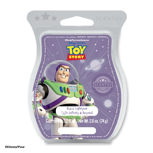 BUZZ LIGHT YEAR TO INFINITY AND BEYOND SCENTSY BAR SCENTSY CLUB