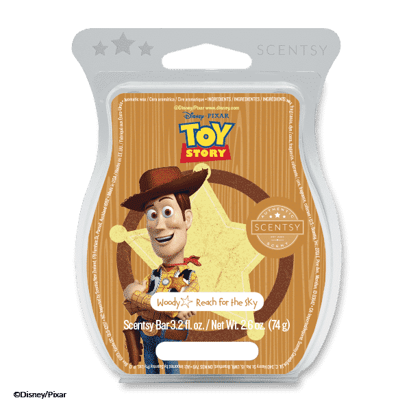 WOODY REACH FOR THE SKY SCENTSY BAR SCENTSY CLUB | TOY STORY 4: BUZZ LIGHTYEAR & WOODY SCENTSY BUDDIES & SCENTS - SCENTSY & DISNEY