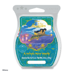 A WHOLE NEW WORLD SCENTSY BAR