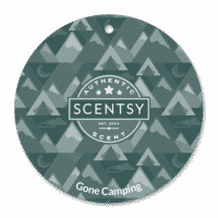 GONE CAMPING SCENTSY SCENT CIRCLE