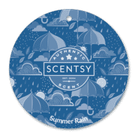 SUMMER RAIN SCENTSY SCENT CIRCLE