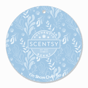 I'M SNOW OVER IT SCENTSY SCENT CIRCLE