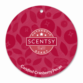 CANDIED CRANBERRY PECAN SCENTSY SCENT CIRCLE