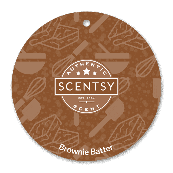 BROWNIE BATTER SCENTSY SCENT CIRCLE