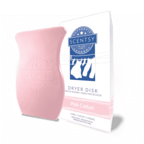PINK COTTON SCENTSY DRYER DISKS