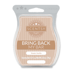 SIMPLY VANILLA SCENTSY BAR