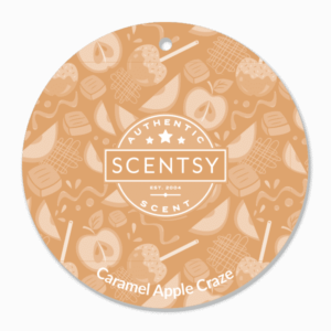 CARAMEL APPLE CRAZE SCENTSY SCENT CIRCLE | Caramel Apple Craze Scentsy Scent Circle