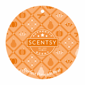 PERFECT PUMPKIN PEAR SCENTSY SCENT CIRCLE