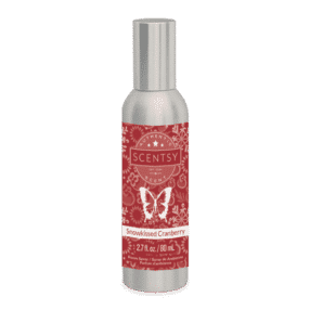 SNOWKISSED CRANBERRY SCENTSY ROOM SPRAY