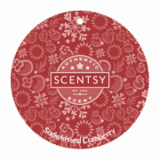 SNOWKISSED CRANBERRY SCENTSY SCENT CIRCLE