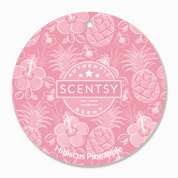 HIBISCUS PINEAPPLE SCENTSY SCENT CIRCLE