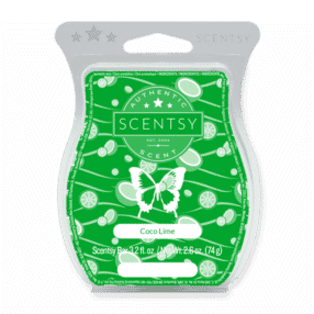 COCO LIME SCENTSY BAR
