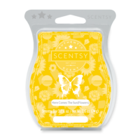HERE COMES THE SUNFLOWERS SCENTSY BAR