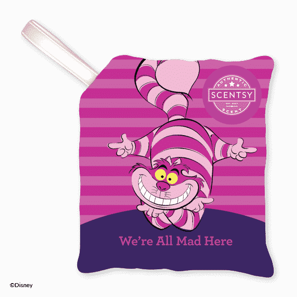 WE'RE ALL MAD HERE SCENTSY SCENT PAK