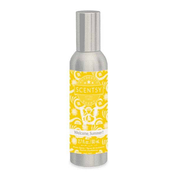 NEW! WELCOME SUMMER SCENTSY ROOM SPRAY | JUNE 2020 | Shop Scentsy | Incandescent.Scentsy.us