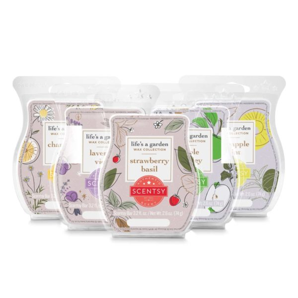 LIFE'S A GARDEN WAX COLLECTION | NEW! LIFE'S A GARDEN SCENTSY WAX COLLECTION BUNDLE | Incandescent.Scentsy.us
