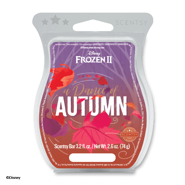 A DANCE OF AUTUMN FROZEN 2 SCENTSY BAR