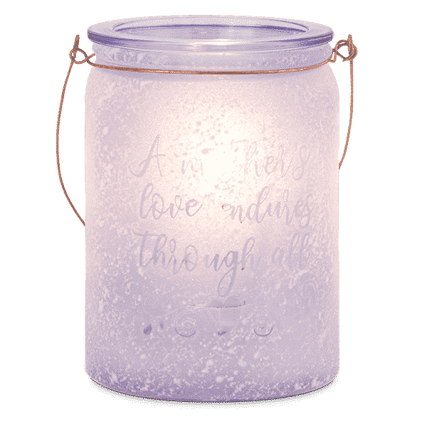 A MOTHERS LOVE SCENTSY WARMER LIT | A Mother's Love Scentsy Warmer | Mother's Day 2021 | Incandescent.Scentsy.us