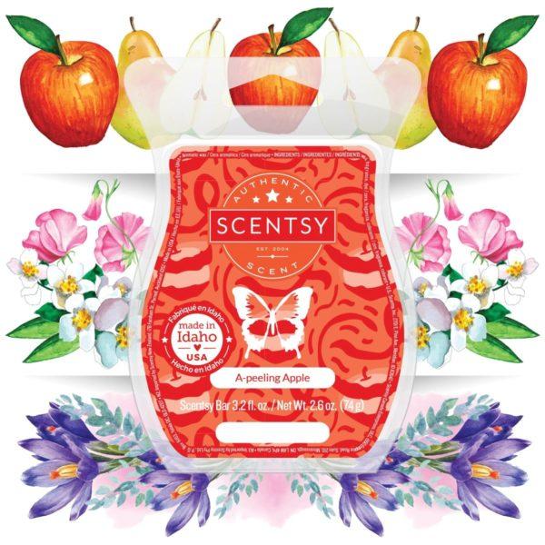 A PEELING APPLE SCENTSY BAR NOTES | A-Peeling Apple Scentsy Bar