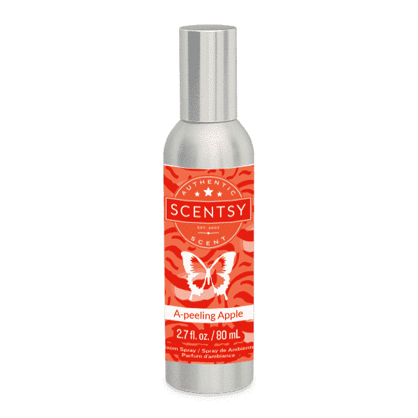 NEW! A-Peeling Apple Scentsy Room Spray | June 2021 | Incandescent.Scentsy.us