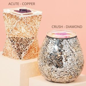 ACUTE COPPER SCENTSY WARMER CRUSH DIAMOND SCENTSY WARMER