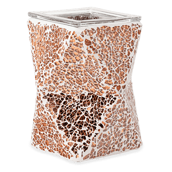 ACUTE COPPER SCENTSY WARMER NO LIGHT