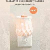 ALABASTER NIGHTLIGHT MINI SCENTSY WARMER