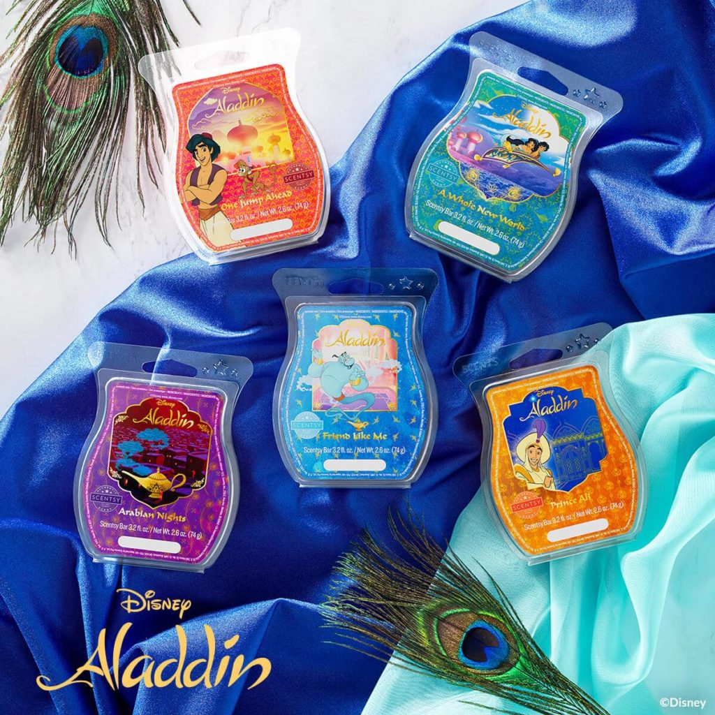 ALADDIN SCENTSY WAX BUNDLE COLLECTION