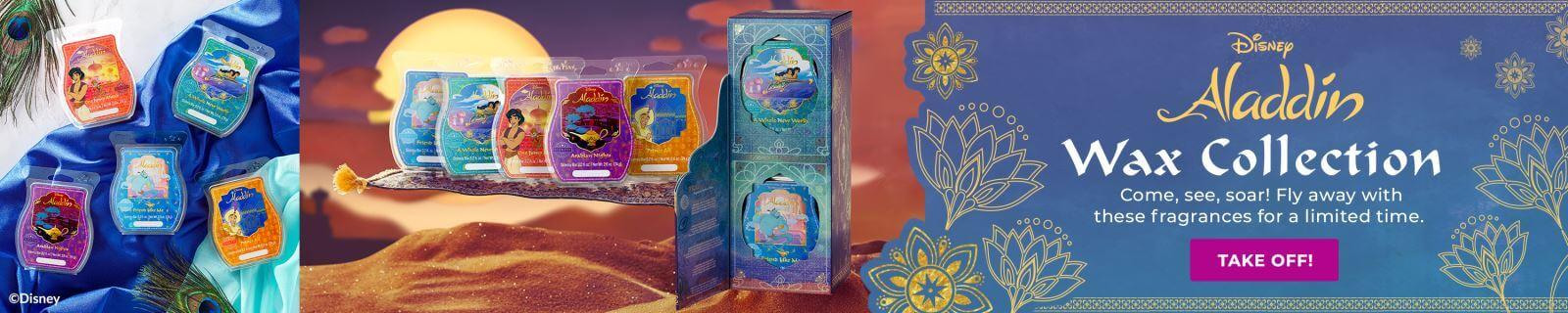 ALADDIN SCENTSY WAX COLLECTION