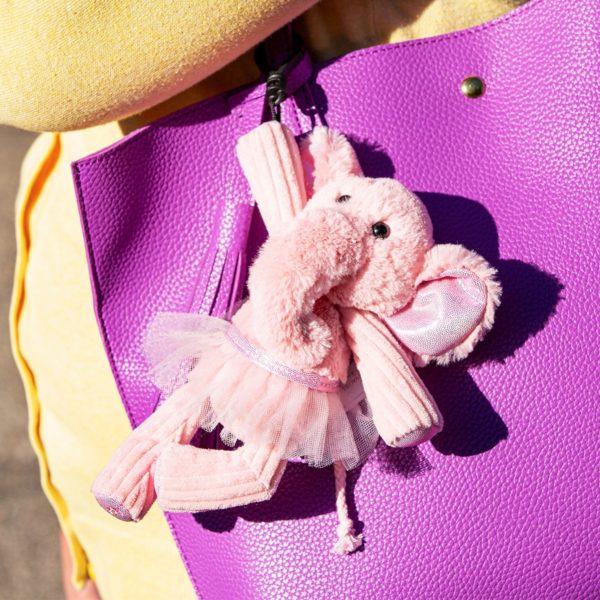 ALLEGRA THE ELEPHANT SCENTSY BUDDY CLIP | Allegra the Elephant Scentsy Buddy Clip + Sugar