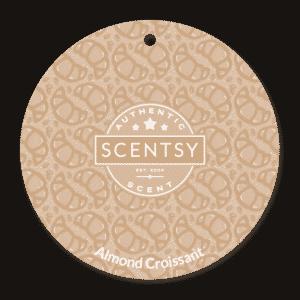 ALMOND CROISSANT SCENTSY SCENT CIRCLE