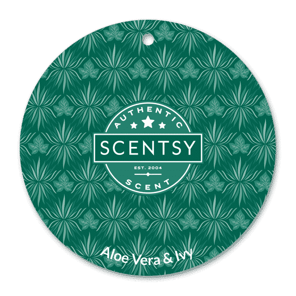 ALOE VERA IVY SCENTSY SCENT CIRCLE