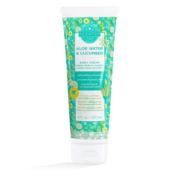 NEW! ALOE WATER & CUCUMBER SCENTSY BODY CREAM | Shop Scentsy | Incandescent.Scentsy.us