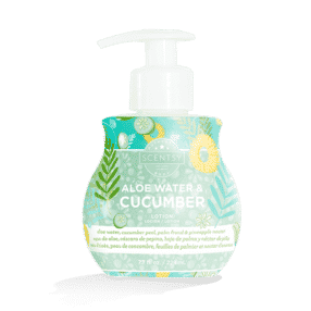 ALOE WATER & CUCUMBER SCENTSY BODY LOTION