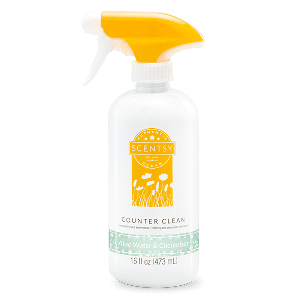 ALOE WATER & CUCUMBER SCENTSY COUNTER CLEAN   NEW! ALOE WATER AND CUCUMBER SCENTSY COUNTER CLEAN   Shop Scentsy   Incandescent.Scentsy.us