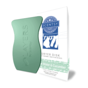 ALOE WATER AND CUCUMBER SCENTSY DRYER DISKS