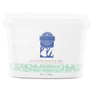 ALOE WATER & CUCUMBER SCENTSY WASHER WHIFFS TUB | NEW! ALOE WATER & CUCUMBER SCENTSY WASHER WHIFFS TUB | Shop Scentsy | Incandescent.Scentsy.us