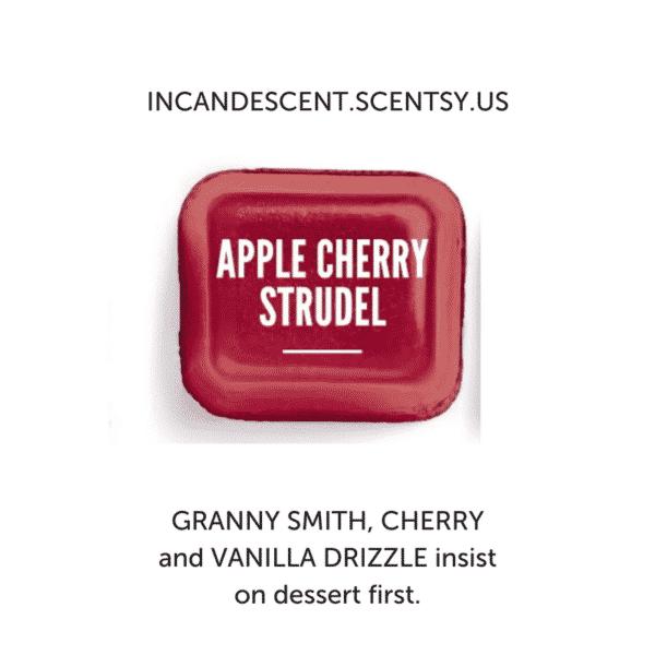 APPLE CHERRY STRUDEL SCENTSY FRAGRANCE | Apple Cherry Strudel Scentsy Bar | Incandescent.Scentsy.us