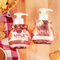 APPLE & CINNAMON STICKS SCENTSY HAND SOAP AND LOTION BUNDLE