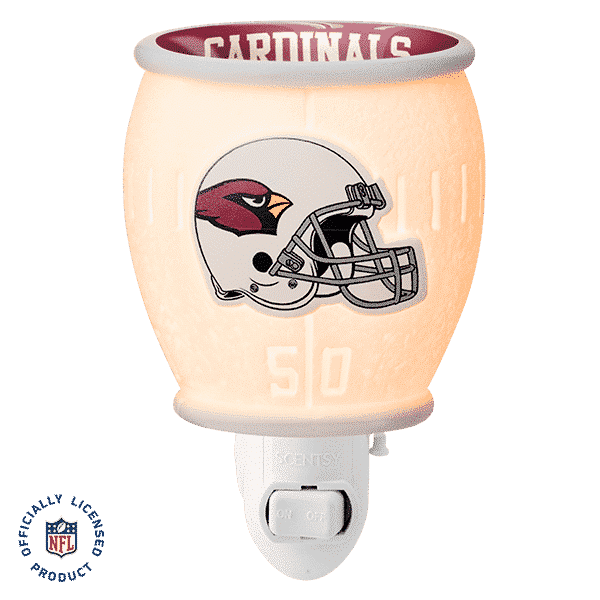 ARIZONA CARDINALS MINI SCENTSY WARMER