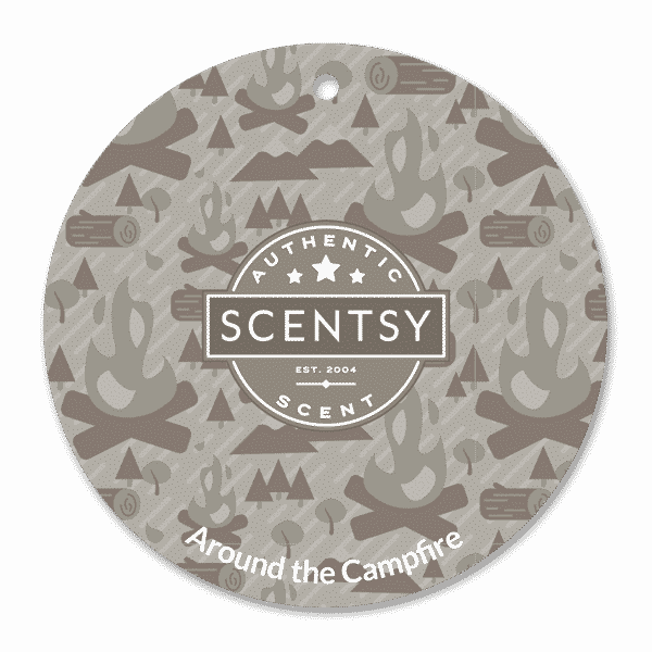 AROUND THE CAMPFIRE SCENTSY SCENT CIRCLE