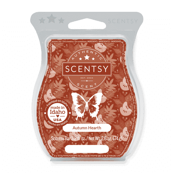 AUTUMN HEART SCENTSY BAR 1