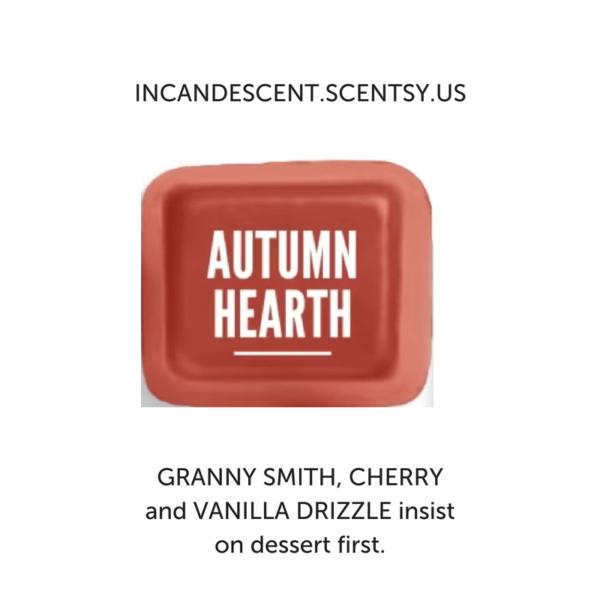 AUTUMN HEARTH SCENTSY FRAGRANCE | Autumn Hearth Scentsy Bar | Incandescent.Scentsy.us
