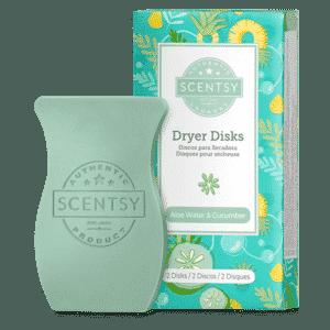 Aloe Water Cucumber Scentsy Dryer Disks 1