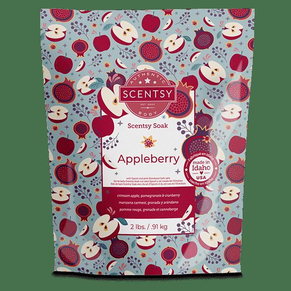 Appleberry Scentsy Soak1