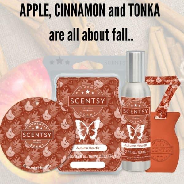 Autumn Heart Scentsy Fragrance | Autumn Hearth Scentsy Bar | Incandescent.Scentsy.us