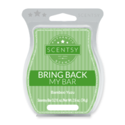 BAMBOO YUZU BRING BACK MY SCENTSY BAR JULY 2018